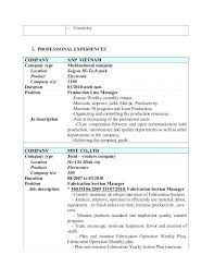 Medical Assembly Job Description For Resume From Assembly Line