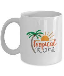 Coffee Mug - Tropical Cutie by Tech Fashion