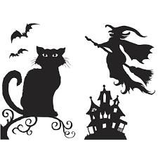 Halloween Silhouettes Halloween Decorations Spooky