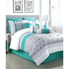 gray set teal comforter queen best grey comforter sets ideas teal and grey