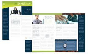 Free Brochure Template Word Publisher Gratis Download