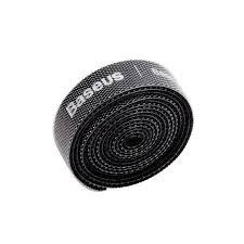 <b>Baseus</b> Colourful <b>Circle Velcro</b> Straps 1m Black | INNPRO