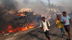 Image result for شمار تلفات مرگبارترین انفجار تروریستی موگادیشو به مرز 360 تن رسید