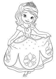 60 Disegni Di Sofia La Principessa Da Colorare Pianetabambiniit
