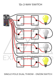How To Wire Lights Switches In A Diy Camper Van Electrical