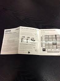 Titleist 910 D2 Adjustment Chart Titleist Golf 915 913 910 Surefit Performance Manual Fitting