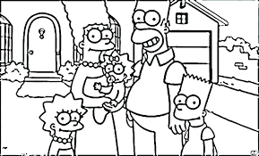 bart simpson coloring pages coloring pages free printable coloring pages homer and marge colouring pages free