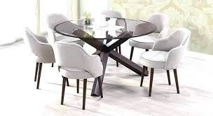 6 seater dining room sets glass 6 dining table glass dining table 6 chairs decorative round