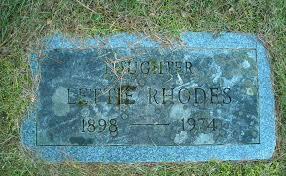 Lettie Irene Rhodes (1898-1974) - Find A Grave Memorial