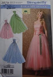 Prom Dress Sewing Patterns Custom How To Understand A Sewing Pattern Envelope A Beginners Guide
