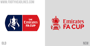 Manchester united logo, old trafford manchester. All New Emirates Fa Cup Logo Launched Includes Small Number For Titles Won Footy Headlines