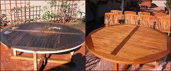 Indiana Deck Furniture Refinishing Teak Cedar Redwood or Pine