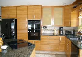Diamond Vibe Cabinets Modern Sustainable Bamboo Kitchen Cabinet Ideas Feats Huge Ionizer