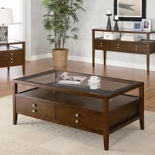 contemporary unique coffee table with storage coffee table and end table sets glass elegant wood
