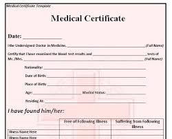 Medical Certificate Of Death Template Blank Printable Dr