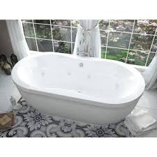 stylish jetted freestanding tub free standing jetted bathtub 67 bathroom set on air jetted