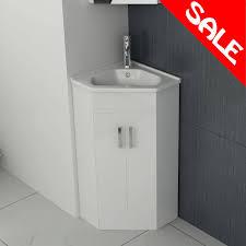 alpine corner vanity unit basin 425mm