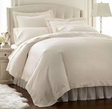 details about darcy 4pc sheet set ivory tencel cotton hemstitch design solid 400 thread