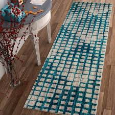 contemporary mid century modern area rugs with regard to ebern designs angie blue rug reviews wayfair