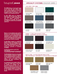 Colours Finishes Vicwest Building Products