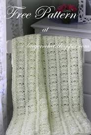 Free Crochet Baby Afghan Patterns Awesome Lacy Crochet Fancy Shells Baby Afghan Free Pattern
