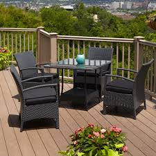 patio dining: belladonna resin wicker  piece patio dining set