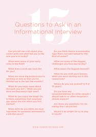 Last Interview Questions 15 Revealing Questions To Ask In An Informational Interview