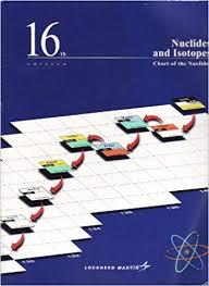 Bechtel Chart Of The Nuclides Nuclides And Isotopes Chart Of The Nuclides 16th Edition