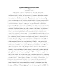 Examples of Personal Statements   computer science personal statement    Tips on How to Write