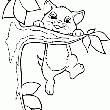Great Cute Cat Coloring Pages 74 For Gallery Coloring Ideas With