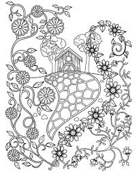 Drawing and coloring a house is something that kids learn quite early. House Coloring Pages Coloring Rocks