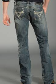 Rock and Roll Cowboy Menu0027s Pistol Slim Fit Jeans