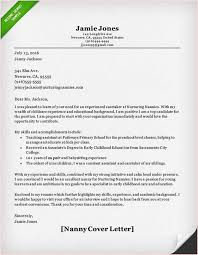 Child Care Letter Template Cover Letter For Child Care Cover Letter Sample For Nanny Position