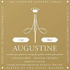 Augustine Imperial Red Medium Tension Classical Guitar Strings