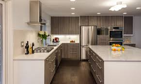 kitchen ikea kitchen cabinets black armless metal chairs stainless steel appliance white wall color brown