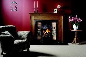 gazco art nouveau classic tiled front fireplace canterbury fireplaces blackburn