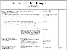 Action Plan Templates Word Adorable Personal Action Plan Template Environmental Example 48 For Students