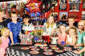 Child S Birthday Party Childrens Birthday Parties Winston Cup Museum