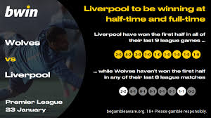 Wolves vs Liverpool Prediction, Betting Tips & Odds