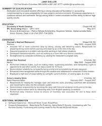 Account Resume Samples Internship Resume Sample For College Students ...
