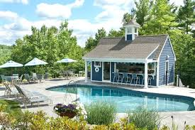 open pool house. Pool House Shed Open Patio Traditional With Bar Outdoor Cushions And Pillows .
