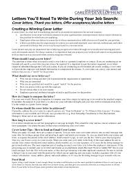 Job Offer Thank You Letter Cover Letters You Will Always Need