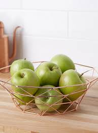 Decorative Metal Fruit Bowls Decorative Fruit Bowls and Baskets for the Table Online Simons 33