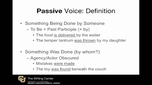 Scientific Writing Passive Voice In Scientific Writing A Review