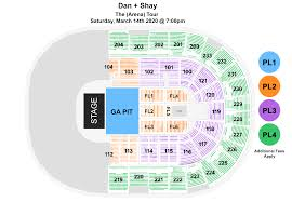 Peace Center Greenville Sc Seating Chart Dan Shay Bon Secours Wellness Arena