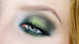 smokey green eye makeup tutorial perfect for st patrick s day you
