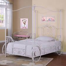 New Full Size Canopy Bed with Modern Lines