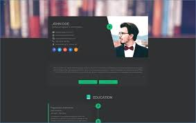 Personal Resume Website Template Resume Example