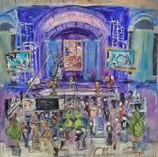 live painting the 25th annual greendeal awards by rl green reality was quite a treat the theme alone a night at the museum is a live event painter s