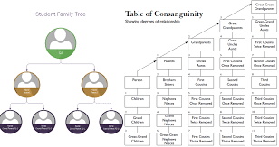 Second Cousin Twice Removed Chart Create A Binary Tree For Your Family Tree The Exa